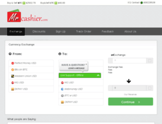 mrcashier.com screenshot