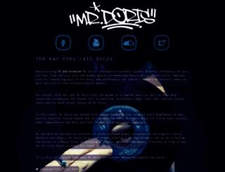 mrdoris.co.uk screenshot