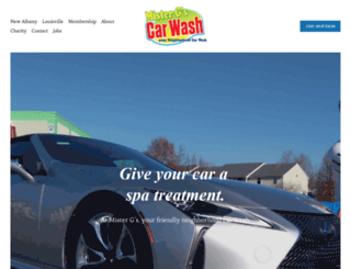 mrgscarwash.com screenshot