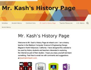 mrkash.com screenshot