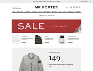 mrporter.com screenshot