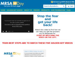 mrsa30day.com screenshot