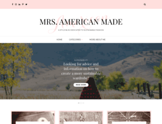 mrsamericanmade.com screenshot