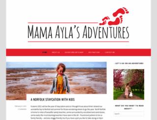 mrsaylasadventures.com screenshot