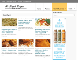 mrsimplerecipes.com screenshot