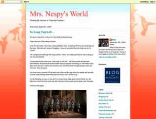 mrsnespysworld.blogspot.com screenshot