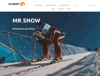 mrsnow.de screenshot