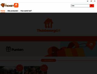 mrticket.nl screenshot
