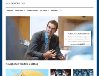 ms-docblog.de screenshot