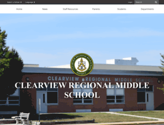 ms.clearviewregional.edu screenshot