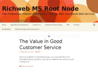 ms.richweb.com screenshot