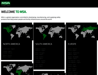 msasafety.com screenshot