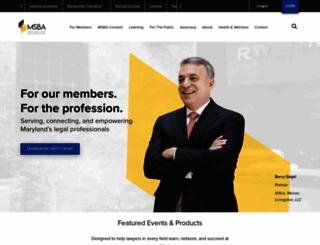 msba.org screenshot