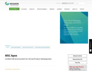 mscapex.com screenshot