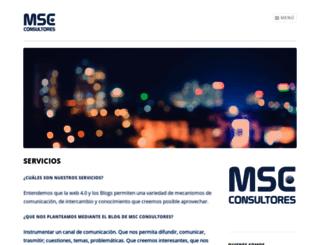 mscconsultores.wordpress.com screenshot