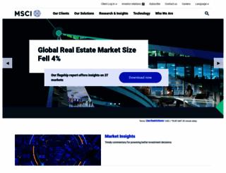 msci.com screenshot