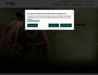 msd-animal-health.co.uk screenshot