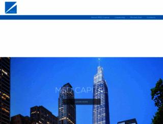 msdcapital.com screenshot