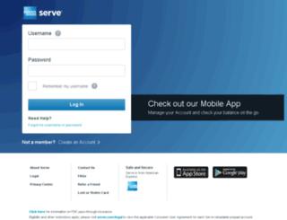 msecure.serve.com screenshot