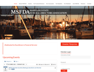 msfda.net screenshot