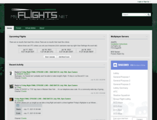 msflights.net screenshot