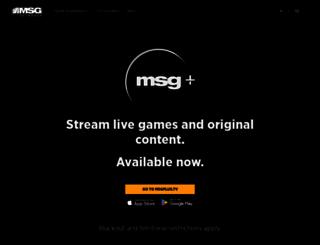 msgnetworks.com screenshot