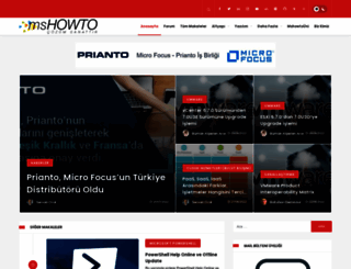mshowto.org screenshot