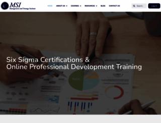 msicertified.com screenshot