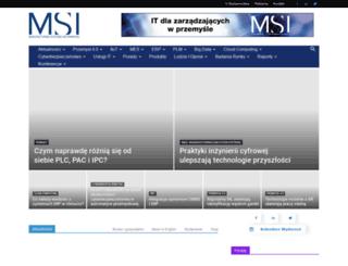 msipolska.pl screenshot