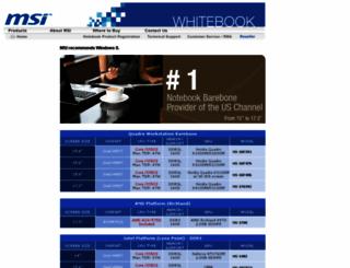 msiwhitebook.com screenshot
