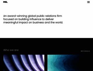 mslgroup.com screenshot