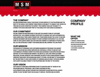 msm-cargo.webs.com screenshot
