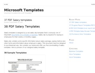 msoftwebtemplates.com screenshot