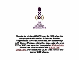 msopr.com screenshot