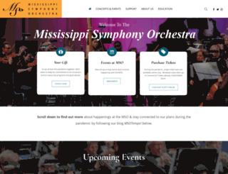 msorchestra.com screenshot