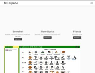 msspace.net screenshot