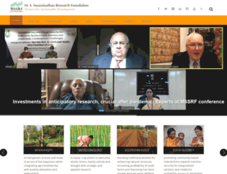 mssrf.org screenshot