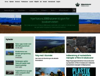 mst.dk screenshot