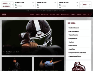 mstateathletics.com screenshot