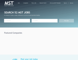 mstjobs.com screenshot
