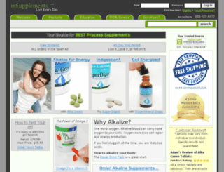 msupplements.com screenshot