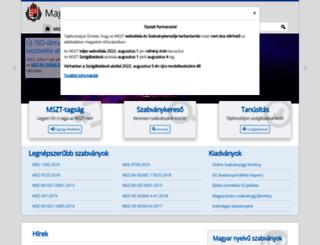 mszt.hu screenshot
