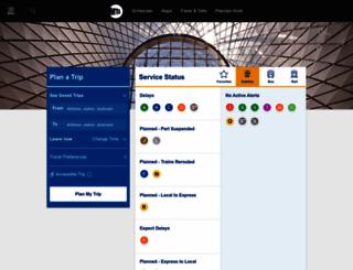 mta.org screenshot