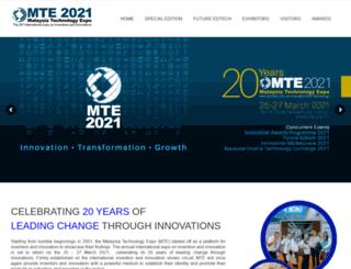 mte.org.my screenshot