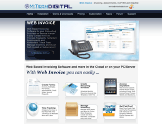 mtechdigital.com screenshot