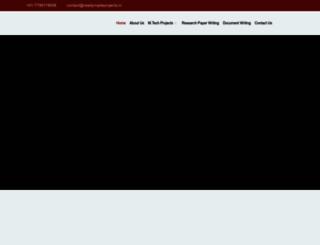 mtechprojects.org screenshot