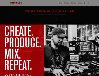 mtecmusic.com screenshot