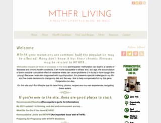 mthfrliving.com screenshot