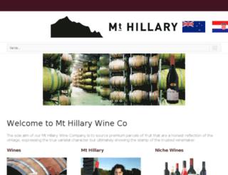 mthillary.com screenshot