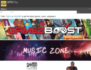 mtnplay.co.ug screenshot